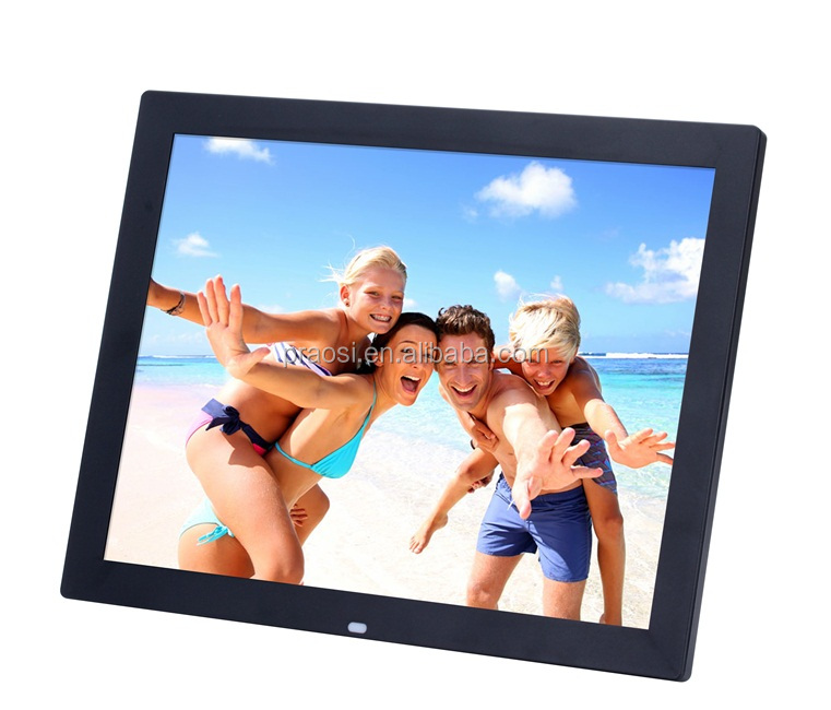 "15"" digital frame HD photo frame with video display and mp4 support USB SD card, MCC"