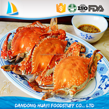 wholesale frozen swimming crab with competitive price