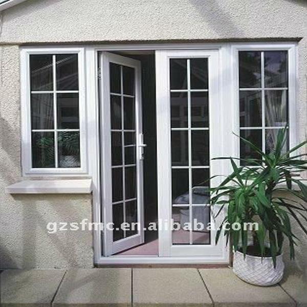 Columpio doble aluminio balcones puertas y puertas precios - Puerta balconera aluminio ...