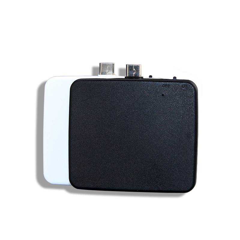 Upgrade Portable Mini One Time charge disposable power bank 2-in1 Disposable charger for iPhone and Android by same connector