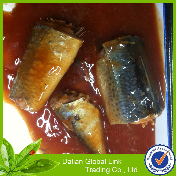 Canned mackerel for importing