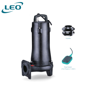 LEO Electric Submersible 2.2KW 3HP Sewage Pump For Dirty Water