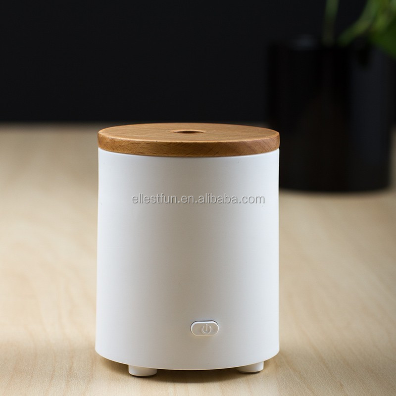 popular product Wood Cap Fan Arom Diffuser w/USB & Battery powered,Electric Essential Oil Diffuser, Air Aroma Freshener-GH2135