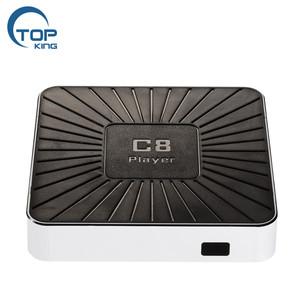 low price set top box C8 Player media player box rk3328 digital tv cable  receiver