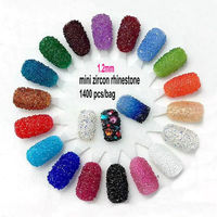 Glitters Crystal Rhinestones For Nail Art Decoration DIY diamond nail 3D Nail Art Decoration