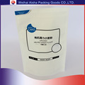 Custom Antistatic Mat Color Surface Effect Stand Up Zipper Pouch For Wheat Flour