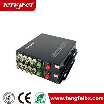 4-channel Fiber Optical Converter Audio Video/fiber Optic Audio ...