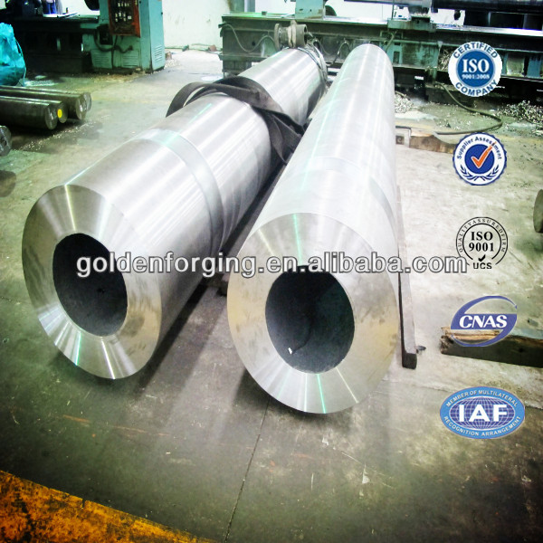 34CrNiMo large forging hollow shaft
