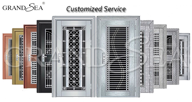 Residential Apartment Main Gate Ss 304 Stainless Steel Grill Single Door Design Price Buy Stainless Steel Doorstainless Steel Door Designstainless