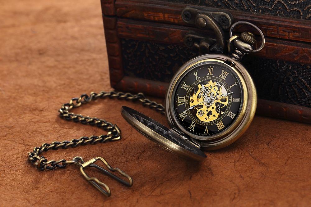 collier montre gousset homme