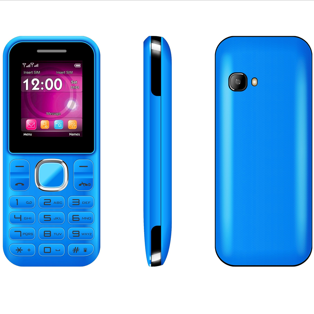 China cheap price 1.77inch Dual sim small keypad oem brand feature phone Z3 to Mexico