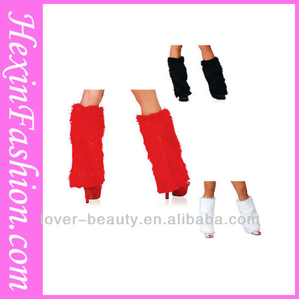 2013 Wholesale Christmas Costume Accessories Fur Boot Covers