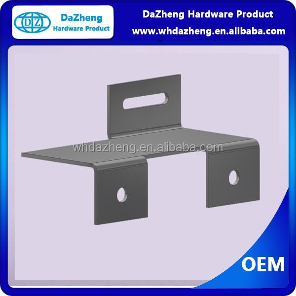 Cheap New product Z Shaped Brackets Color Zinc Plated Furniture Steel Bended Z Shaped Brackets