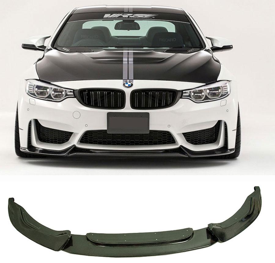 2015+ AF-0350 Carbon Fiber Front Splitters BMW F80 M3 /& F82//F83