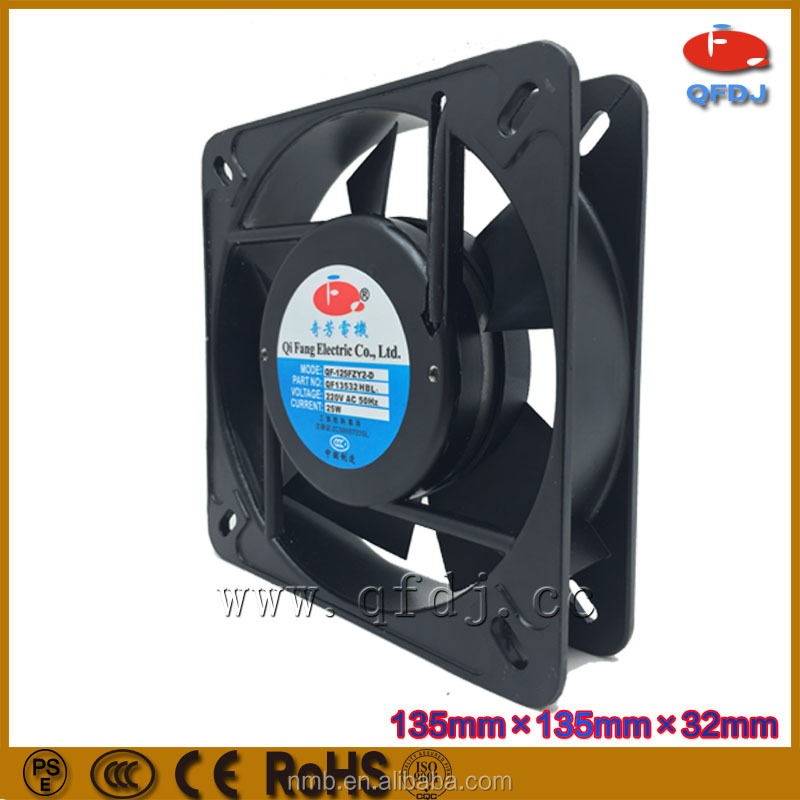 ac 135*135*32mm wall mounted exhaust fan 13532 ac motor external cooling fan cross flow ventilation fan