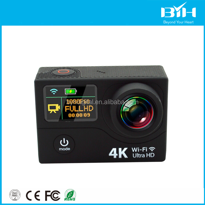 New products 2016 high definition cube sport video recorder waterproof 4K action camera