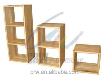 Oa 4105 Wooden Cube Set Solid Oak Furniture