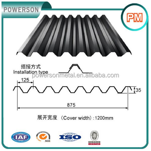 Black Corrugated Metal Roofing Sheet, Black Corrugated Metal Roofing Sheet  Suppliers And Manufacturers At Alibaba.com