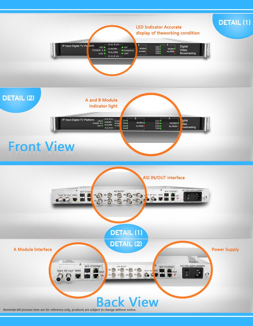 iptv to dvb c transcoder dvb c ip qam modulator 16 in 1 multiplexer scrambler modulator buy. Black Bedroom Furniture Sets. Home Design Ideas