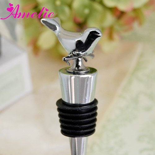 A8198 Silver Wholesale Bottle Stopper China Birthday Party Items