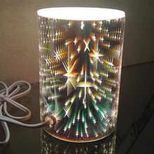 Elektrische 3D glas lamp essentiële <span class=keywords><strong>olie</strong></span> diffuser