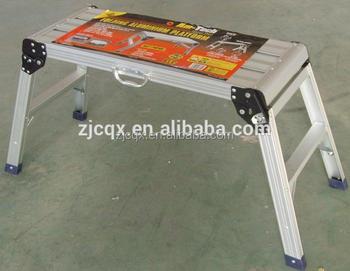 Hop step up pieghevole scaletta sgabello piattaforma in alluminio