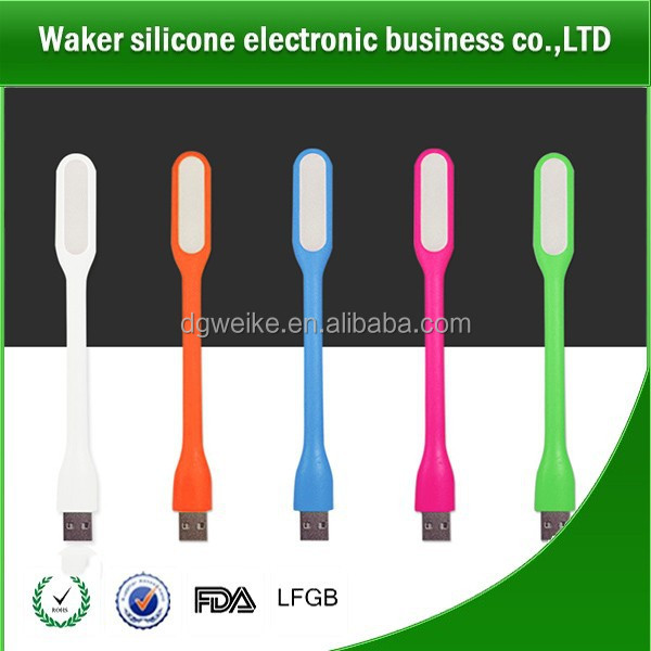 Portable Silicone Mini USB LED Light Bendable Lamp PC Work With Power Bank in Home & Garden, Lamps, Lighting