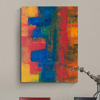 Chinese manufacturers supplies abstract canvas acrylic painting