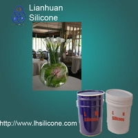 Artificial Water Look for Flowers in a Clear Vase 100:3 Silicone Rubber