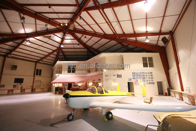 practical design prefabricated aircraft hangar