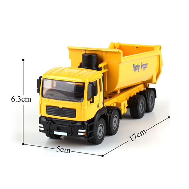 Hot 1:50 model die cast dump truck  toy