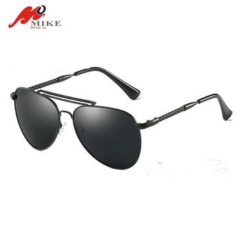 07d64e68471 wholesale oversize metal casting sunglasses custom logo polarized lens fashion  men