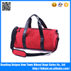 Outdoor travel sport bag 600D material sling handle yoga gym bag with shoes compartment
