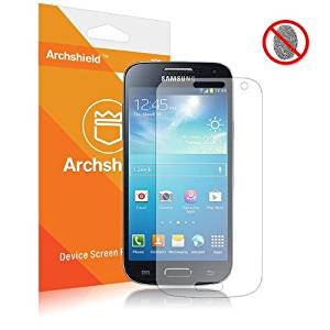 Archshield - Samsung Galaxy S4 S IV Mini Premium Anti-Glare & Anti-Fingerprint (Matte) Screen Protector 3-Pack - Retail Packaging (Lifetime Warranty)