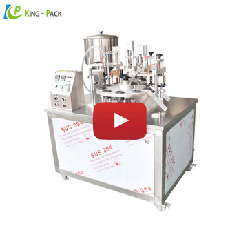 High performance semi automatic soft tube filling and sealing machine