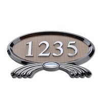 House Door Plate with Numbers Room Numbers Number Sign
