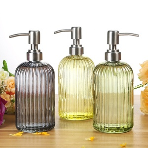 Hot Selling Amazon Glass Soap Dispenser Liquid Hand Soap Dispenser