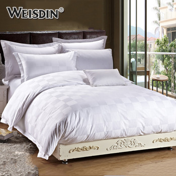 Wholesale Hotel Collection Bedding Sheets Bed Set 300 Thread Count Cotton  Hotel Bed Linen Duvet Cover