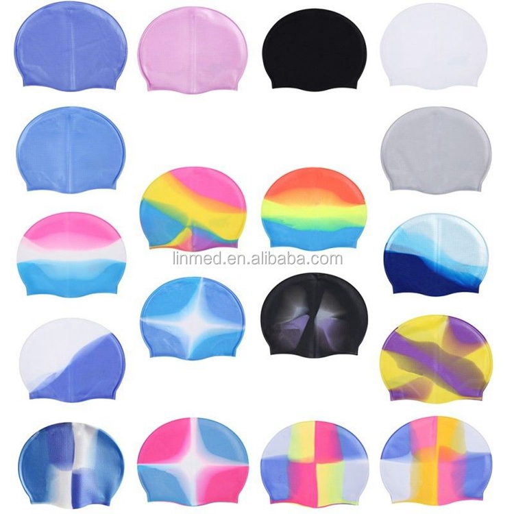 Hot Sale Colorful Fashion Swimming Cap Cute Baby Swim Caps Kids Swimming Cap
