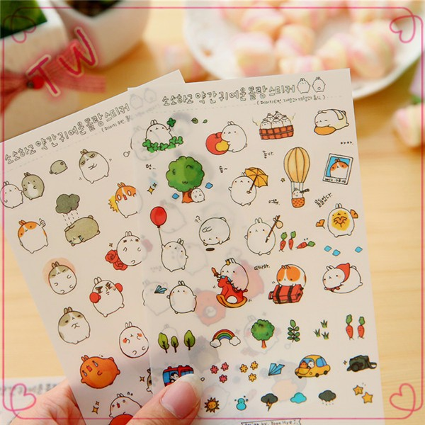 Custom Removable Sticker Sheets