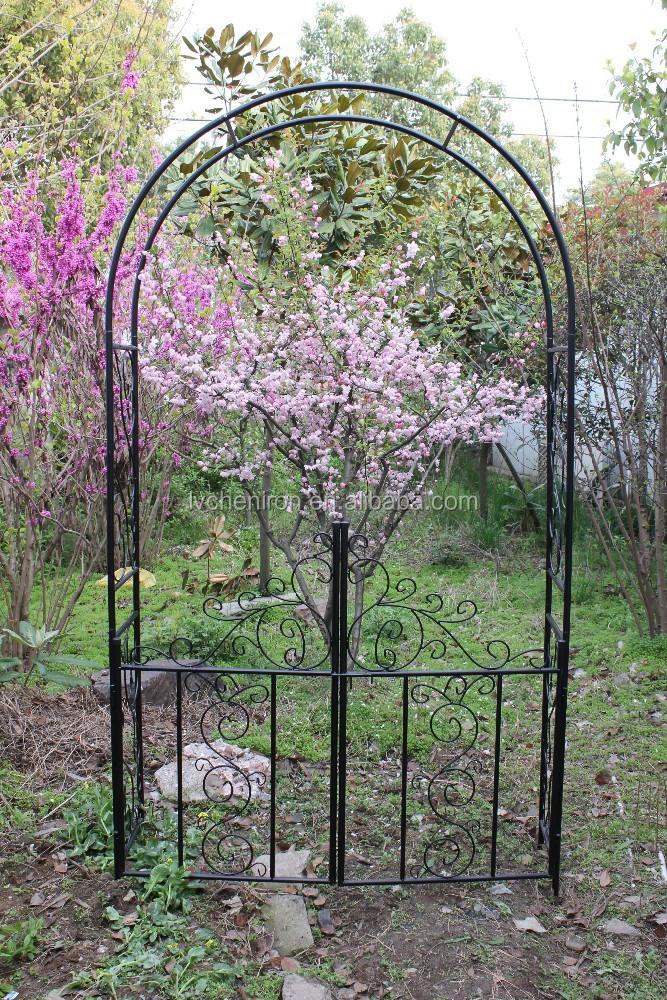 Giardino in metallo arco piante rampicanti e rosa mobili da esterno con cancelli patio archi - Piante rampicanti da esterno ...