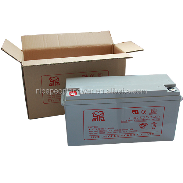 Valve Regulated gel solar battery 12V150AH 24v 150ah deep cycle battery