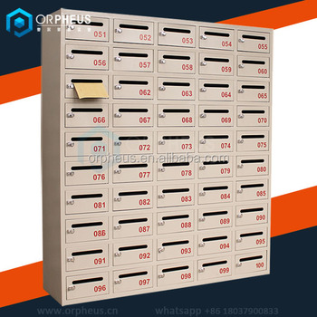 Luoyang Factory Supply Wall Mounted Lockable Office Mailbo