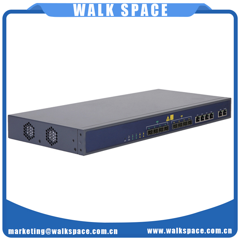 Whole Series 1U 19 Inch EPON OLT with 2 4 8 PON Ports High Performance WEB CLI EMS Management GEPON Optical Line Terminal