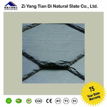 natural black dark roofing slate roof new style construction material