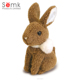 Huizhou toy factory cutting of soft toys bunny rabbit plush toys