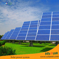 solar irrigation pump system 0.55kw-75kw MPPT tracking solar system for irrigation pumps solar power irrigation system