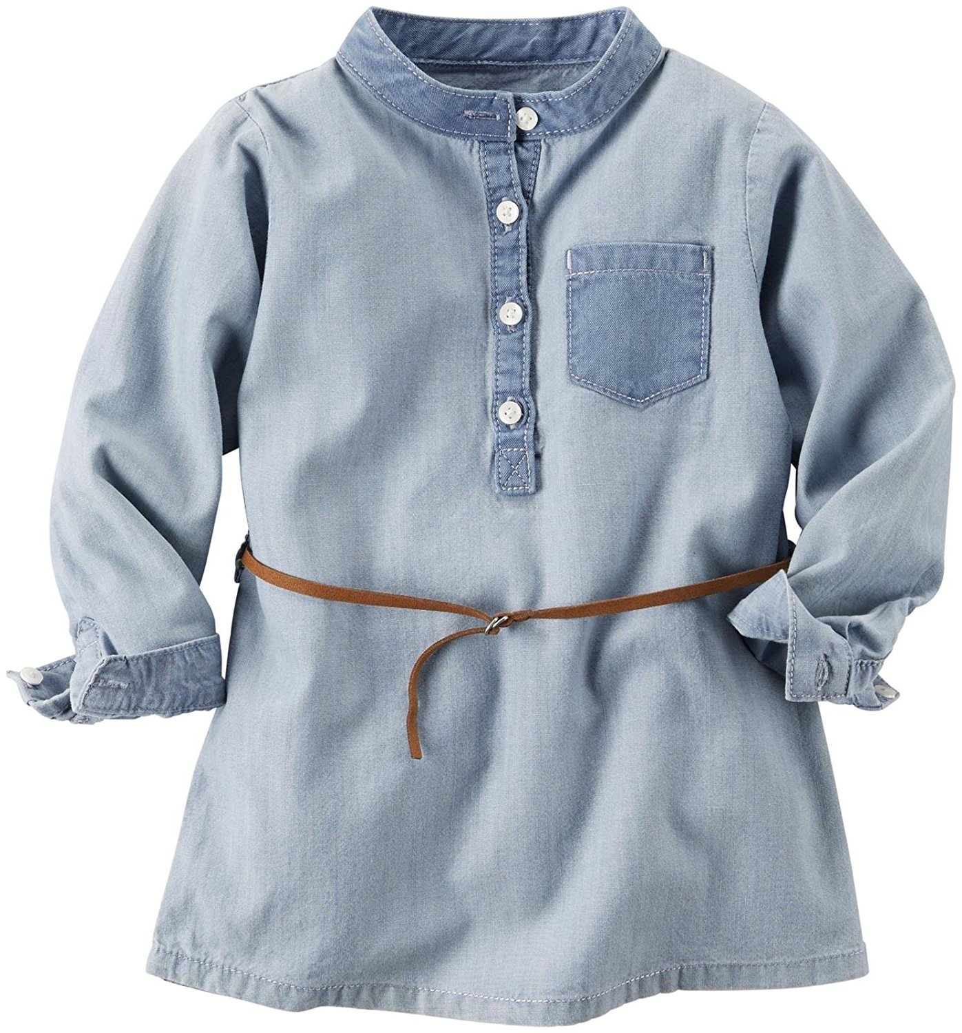 ac8f15893f Get Quotations · Carter s Woven Chambray Tunic (Toddler Kid)