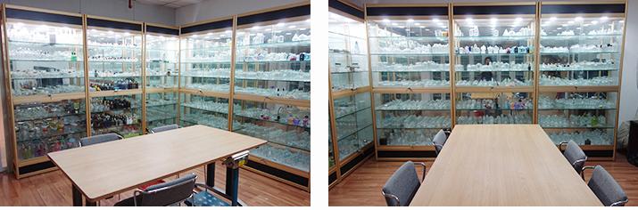 Elegante großhandel hause dekoration glas kerze glas mit deckel