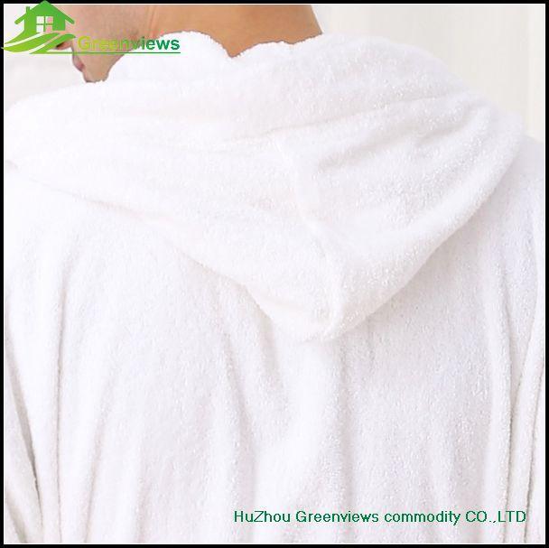 Embroidered robe hooded adult bathrobe coral fleece adults hooded bathrobe  women hooded bath robe hoodie robe 713f14cf5